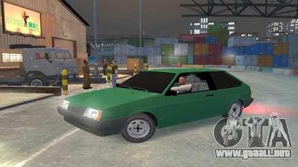 VAZ 2108 para GTA 4