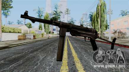 MP40 from Battlefield 1942 para GTA San Andreas