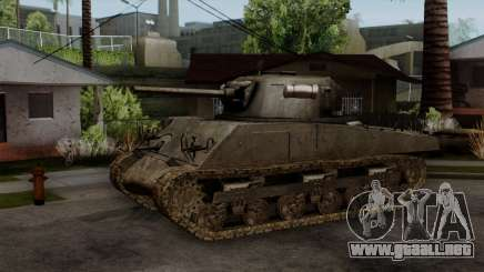 M4 Sherman from CoD World at War para GTA San Andreas