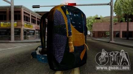 Brasileiro Parachute v2 para GTA San Andreas