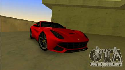 El Ferrari F12 Berlinetta para GTA Vice City