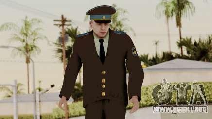 Suboficial mayor de la fuerza aérea para GTA San Andreas