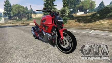 Ducati Diavel Carbon 2011 para GTA 5