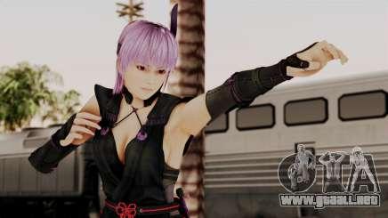 DOA 5 Ayane Ninja para GTA San Andreas