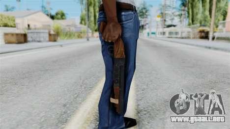 Sawnoff Shotgun from RE6 para GTA San Andreas tercera pantalla