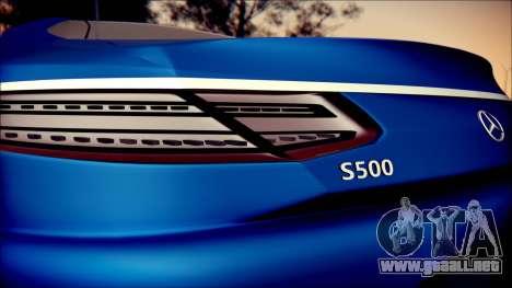 Mercedes-Benz S Coupe Vossen cv5 2014 para visión interna GTA San Andreas