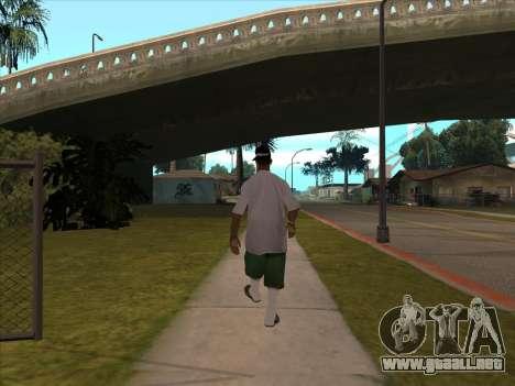 New Beta Skin para GTA San Andreas segunda pantalla