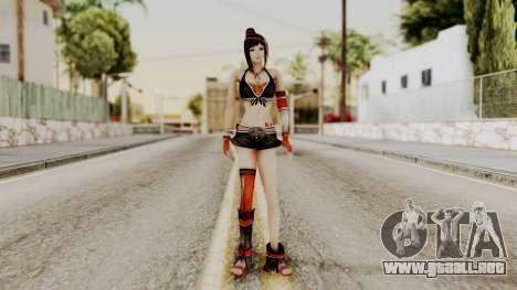 Dynasty Warriors 8 - Bao Sannian Black Costume para GTA San Andreas segunda pantalla