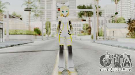Project Diva F 2nd - Kagamine Rin Append para GTA San Andreas segunda pantalla