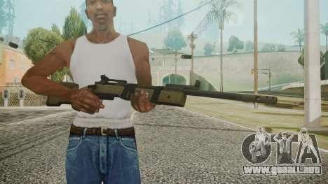 M40A5 Battlefield 3 para GTA San Andreas tercera pantalla