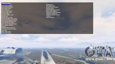 GTA 5 Simple Trainer v2.4 octavo captura de pantalla
