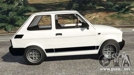 GTA 5 Fiat 126p v0.5 vista lateral izquierda