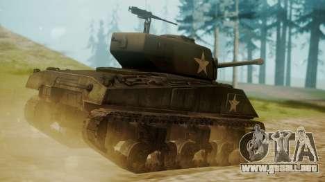 M4A3(76)W Sherman para GTA San Andreas left