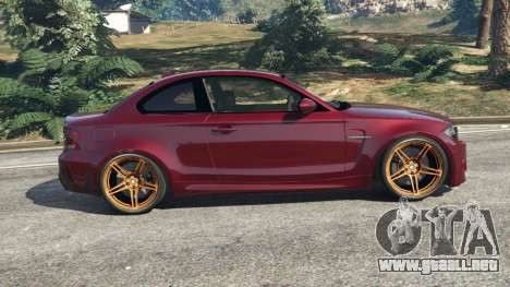 GTA 5 BMW 1M v1.3 vista lateral izquierda