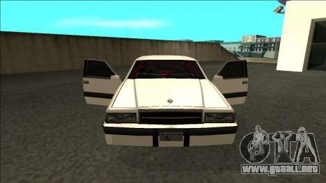 Willard Drift para visión interna GTA San Andreas