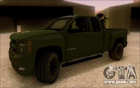 Chevrolet Silverado 2500 Best Edition para GTA San Andreas