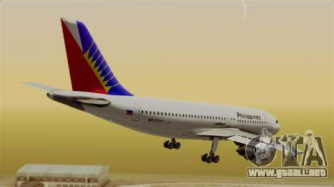 Airbus A310-300 Philippine Airlines Livery para GTA San Andreas left