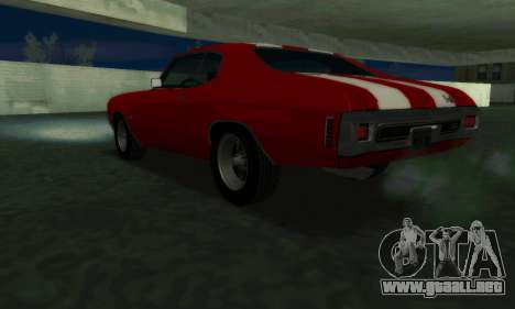 Chevrolet Chevelle SS [Winter] para GTA San Andreas left