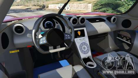 Koenigsegg Agera v0.8.5 [Early Beta] para GTA 5
