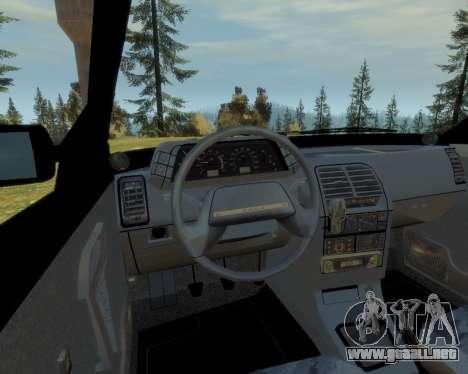 VAZ 21103 v1.1 para GTA 4 vista interior