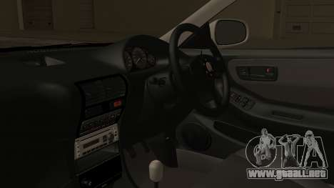 Honda Integra R Spoon para la visión correcta GTA San Andreas