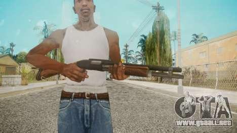 Shotgun by EmiKiller para GTA San Andreas tercera pantalla