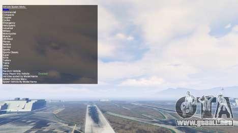 GTA 5 Simple Trainer v2.4 cuarto captura de pantalla