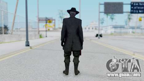 SkullFace Mask and Hat para GTA San Andreas tercera pantalla