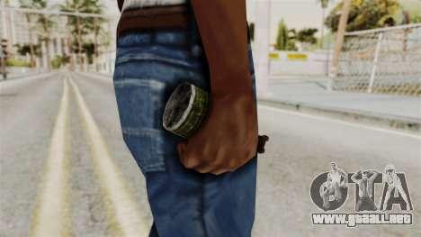 Grenade from RE6 para GTA San Andreas tercera pantalla