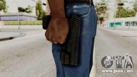 Colt 45 from RE6 para GTA San Andreas tercera pantalla
