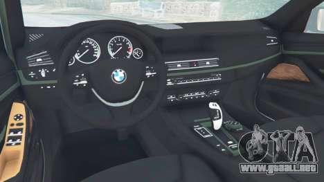 GTA 5 BMW 525d (F11) Touring 2015 (US) vista lateral derecha