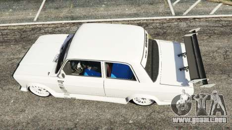 GTA 5 VAZ-2107 Redline 61 vista trasera