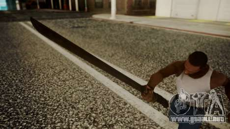 Machete from Friday the 13th Movie para GTA San Andreas tercera pantalla