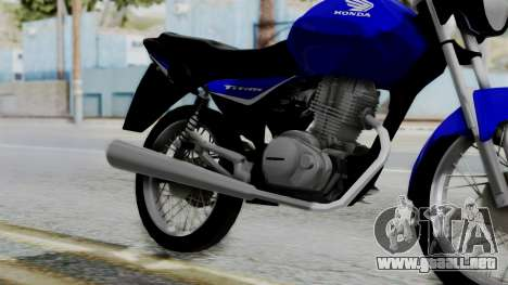 Honda CG Titan 2014 para la visión correcta GTA San Andreas