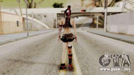 Dynasty Warriors 8 - Bao Sannian Black Costume para GTA San Andreas tercera pantalla