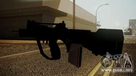Famas Battlefield 3 para GTA San Andreas tercera pantalla