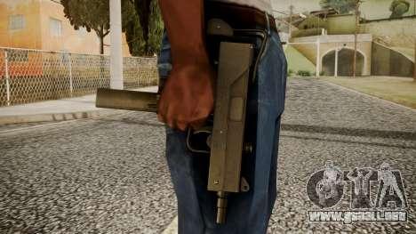 Micro SMG by catfromnesbox para GTA San Andreas tercera pantalla