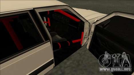 Willard Drift para GTA San Andreas vista posterior izquierda