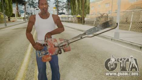 Atmosphere Flame Thrower v4.3 para GTA San Andreas tercera pantalla