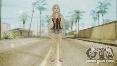 The Jack Daniels Girl Overhauled para GTA San Andreas segunda pantalla