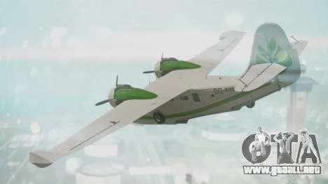Grumman G-21 Goose DQAYL para GTA San Andreas left