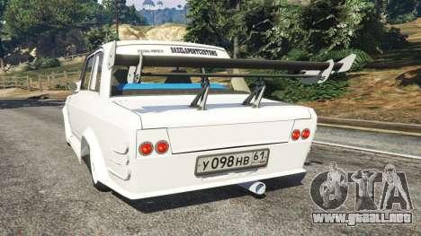 VAZ-2107 Redline 61 para GTA 5