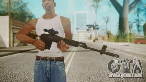 Sniper Rifle by EmiKiller para GTA San Andreas tercera pantalla