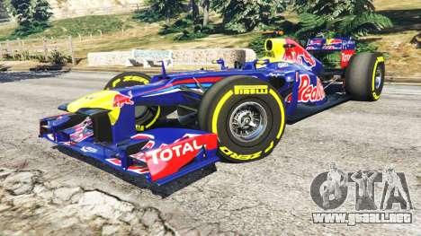 GTA 5 Red Bull RB8 [Sebastian Vettel] vista lateral derecha