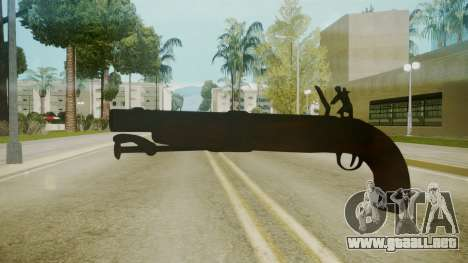 Atmosphere Sawnoff Shotgun v4.3 para GTA San Andreas