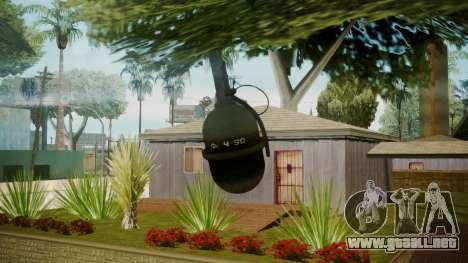 Atmosphere Grenade v4.3 para GTA San Andreas tercera pantalla