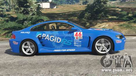 BMW M6 (E63) WideBody v0.1 [Pagid RS] para GTA 5