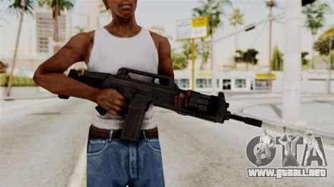 M4 from RE6 para GTA San Andreas tercera pantalla