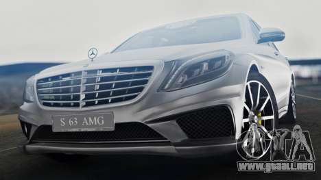 Mercedes-Benz W222 S63 AMG para GTA San Andreas