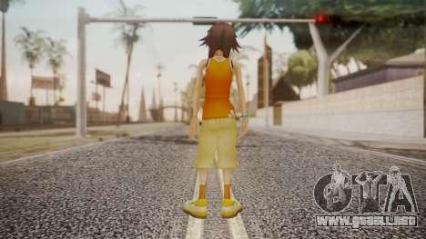 Kingdom Hearts 2 - Olette para GTA San Andreas tercera pantalla